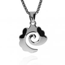 Stříbrný přívěsek s motivem jemně zdobené spirály