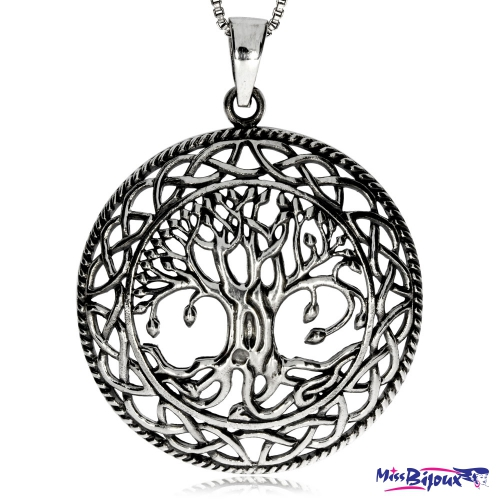 Stříbrný přívěsek - motiv Stromu života