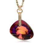 Ocelový náhrdelník Preciosa Brilliant Stone Vitrail Medium 7218P41L - 45cm