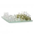 Křišťálová figurka Preciosa Malé šachy 0890 00