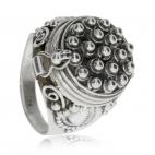 Stříbrný otevírací prsten