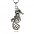 Stříbrný přívěsek - Pohyblivý mořský koník
