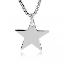 Stříbrný přívěsek - Malá hvězdička