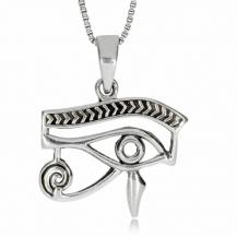 Stříbrný přívěsek - Obrys Horova oka
