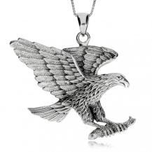 Stříbrný přívěsek - Letící orel