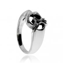 Stříbrný prsten - Znak Óm