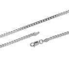 Stříbrný řetízek pánský - Grumeta - 70 cm
