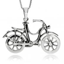 Stříbrný přívěsek - Šlapací kolo