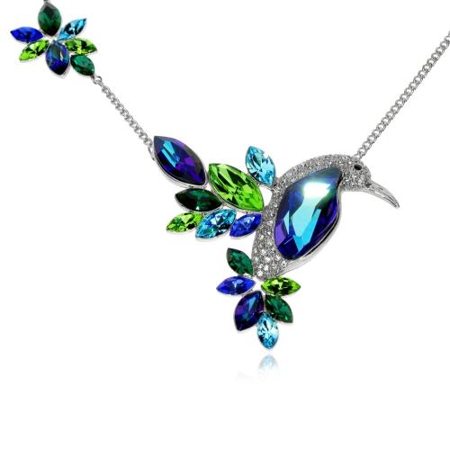 Bižuterní náhrdelník Preciosa Flying Gem by Veronika Combi 2242 70 - 40+7cm
