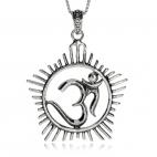Stříbrný přívěsek - Symbol Óm (AUM