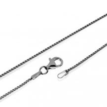 Stříbrný řetízek složený z hranatých článků - 60 cm