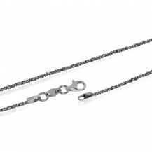 Stříbrný řetízek třpytivá Daisy - 60 cm