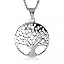 Stříbrný přívěsek - Maličký strom života