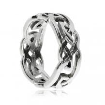 Stříbrný prsten - Smyčky