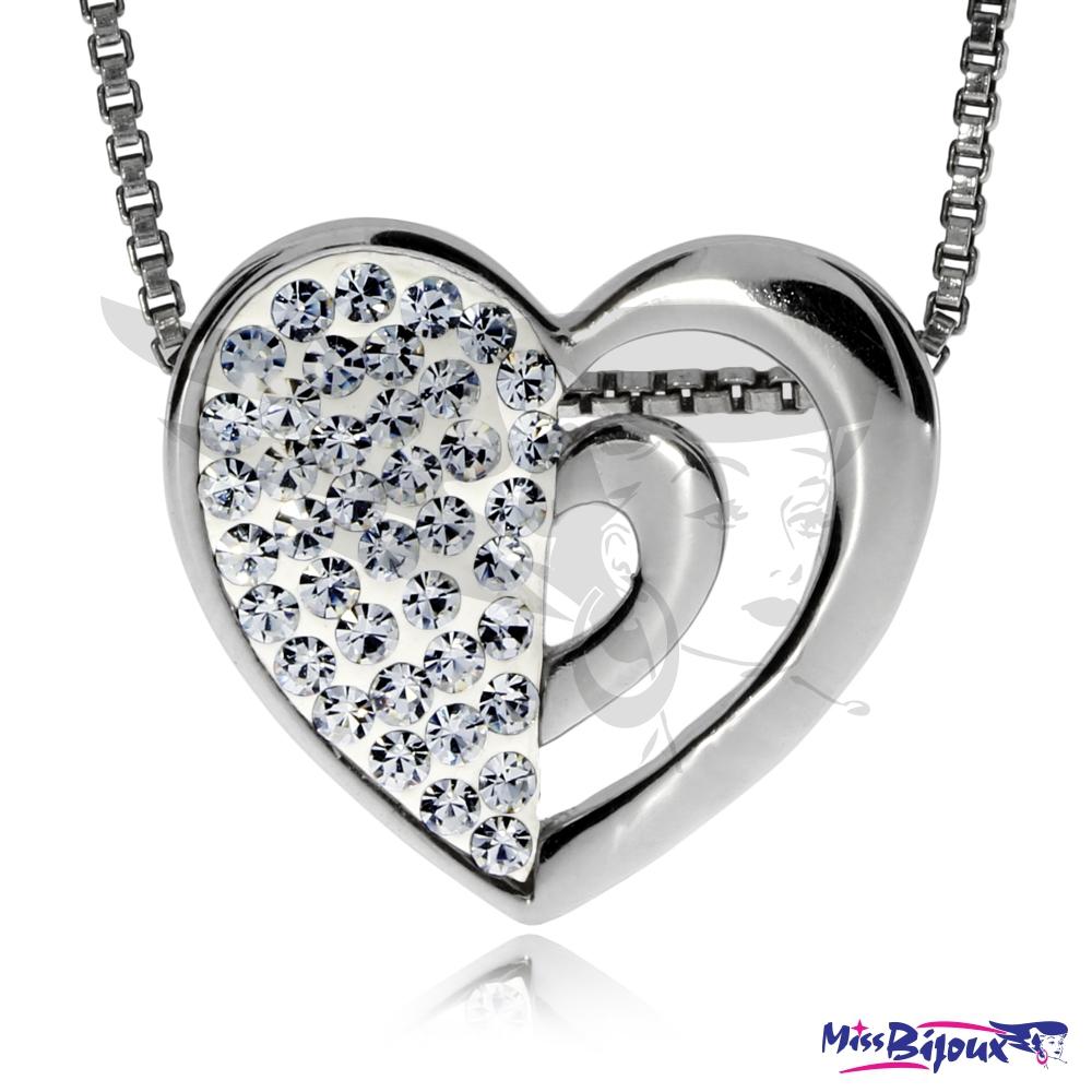 Stříbrný přívěsek s krystaly Swarovski defd78c6e6c